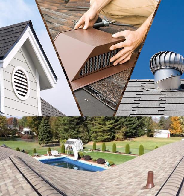 Roofing Ventilation in Lapeer, Clio, Davison, Flint Michigan